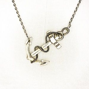 Anchor and Chain Necklace